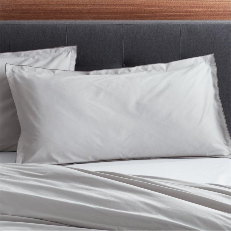 Belo Grey King Pillow Sham