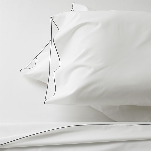 Belo Grey Full Sheet Set