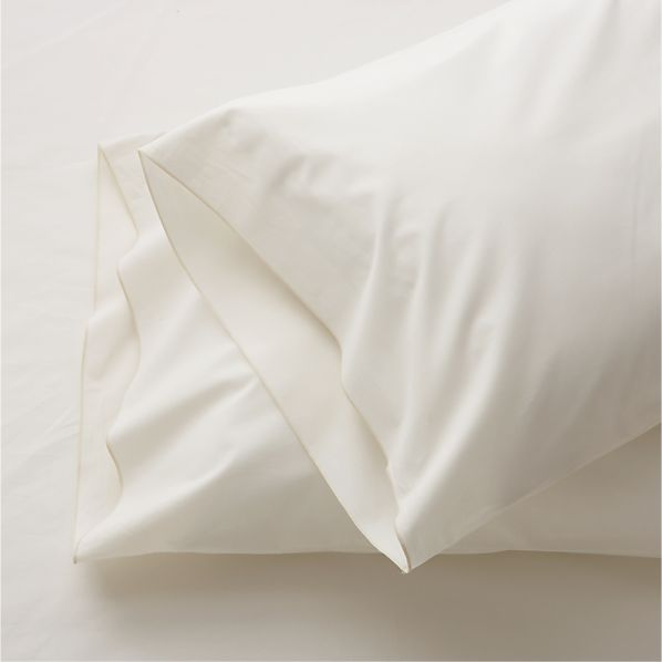 Set of 2 Belo Ivory King Pillow Cases