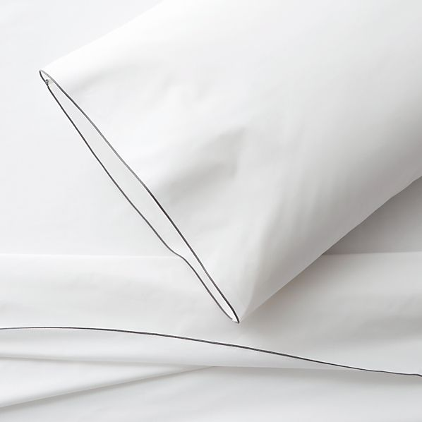 Belo Grey Extra-Long Twin Sheet Set