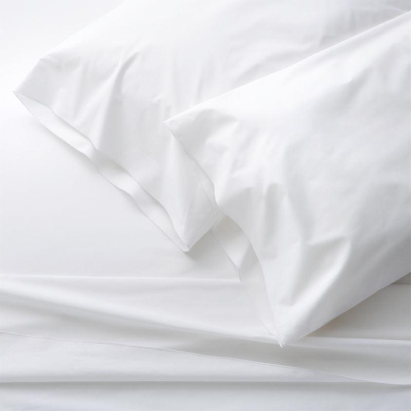 Belo White Queen Sheet Set