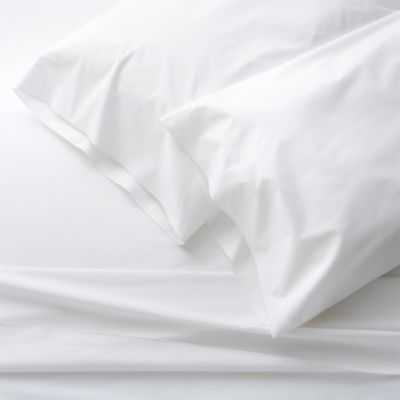 Belo White King Sheet Set