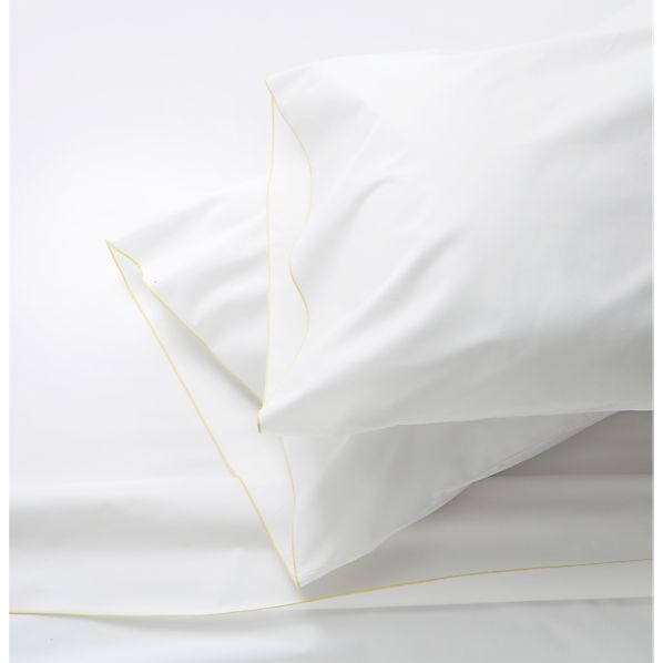 Belo Yellow King Sheet Set