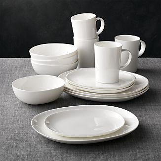 Bennett Oval 16-Piece Dinnerware Set