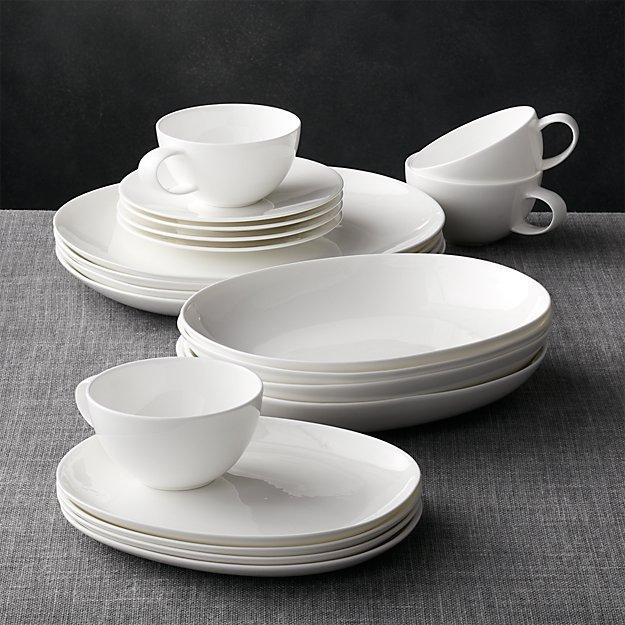Bennett Oval 20-Piece Dinnerware Set