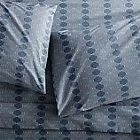 Bennett Blue King Sheet Set