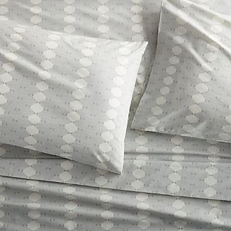 Bennett Grey Sheets and Pillow Cases