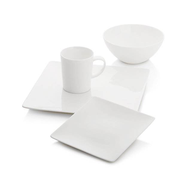 Bennett Square 4-piece Place Setting