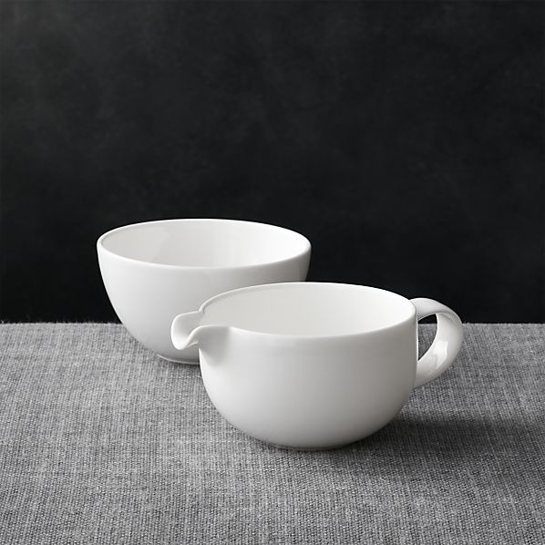 Bennett Sugar Bowl and Creamer