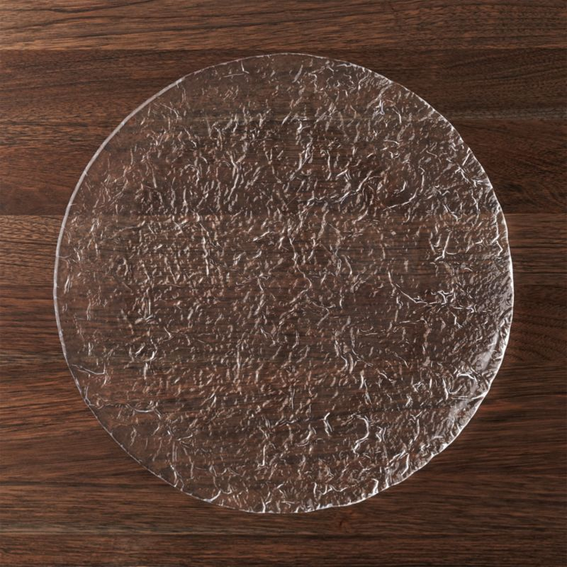 Glass Round Platter Crate And Barrel