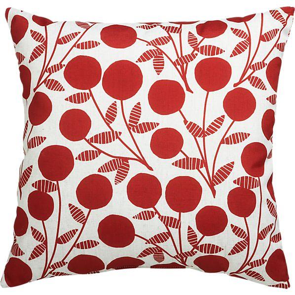 """Berries 20"""" Outdoor Pillow"""
