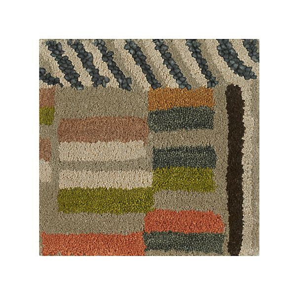 """Berta Wool 12"""" sq. Rug Swatch"""