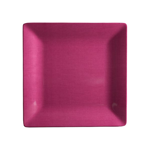 Bianca Purple Dinner Plate | Crate&Barrel | Home Decor
