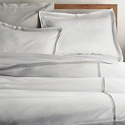 Bianca White/Grey King Duvet Cover