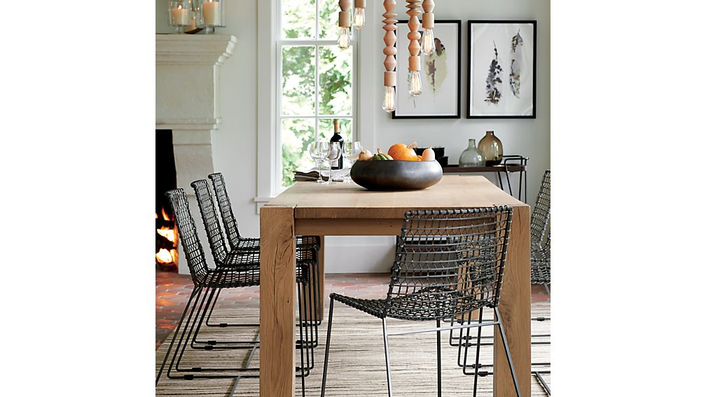 """Big Sur Natural 65"""" Dining Table"""