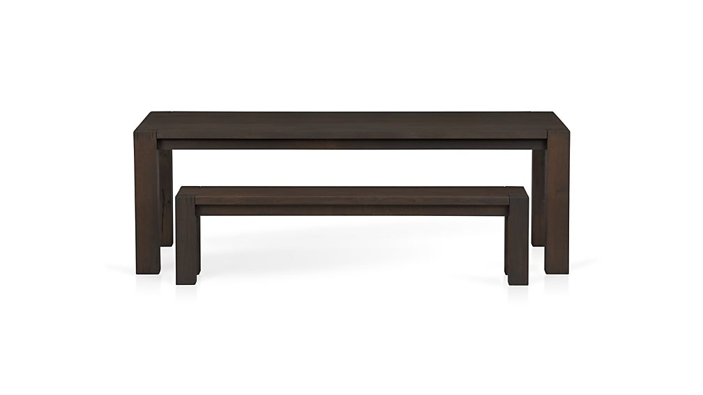 "Big Sur Charcoal 71.5"" Bench"