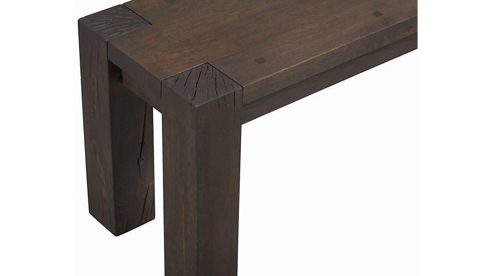 "Big Sur Charcoal 71.5"" Bench"