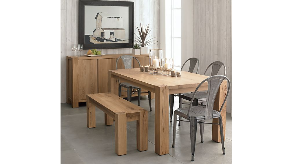"Big Sur Natural 65"" Dining Table"