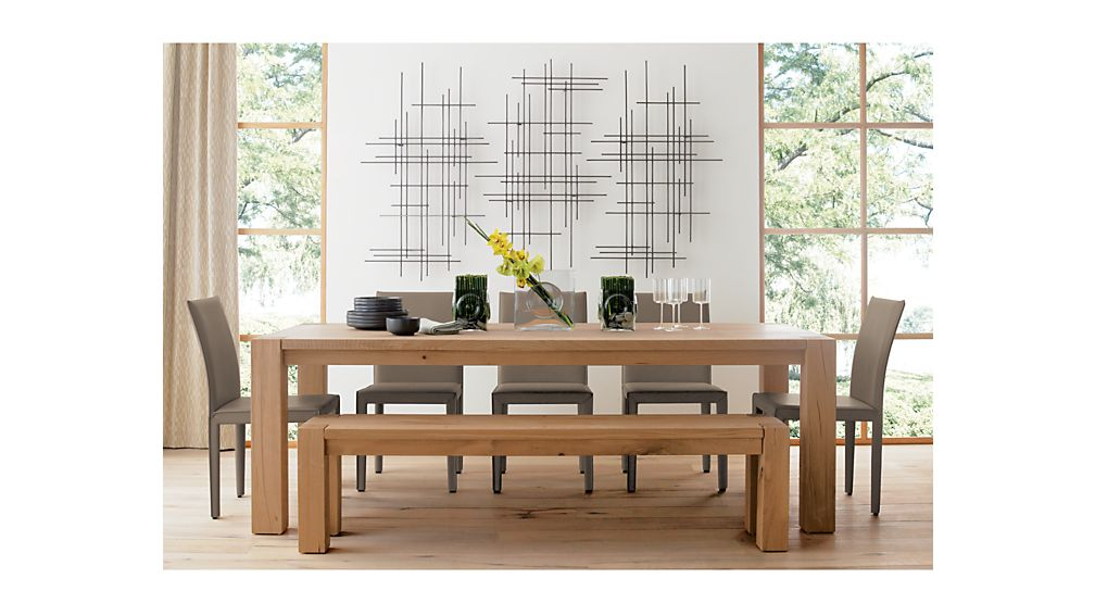 big sur natural 71 5 bench crate and barrel