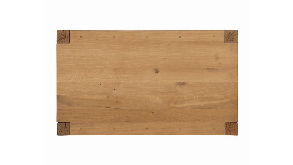 Big Sur Natural Table Crate And Barrel
