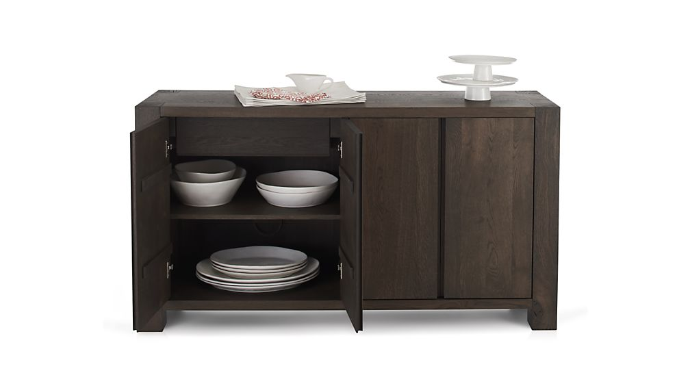 Big Sur Charcoal Sideboard