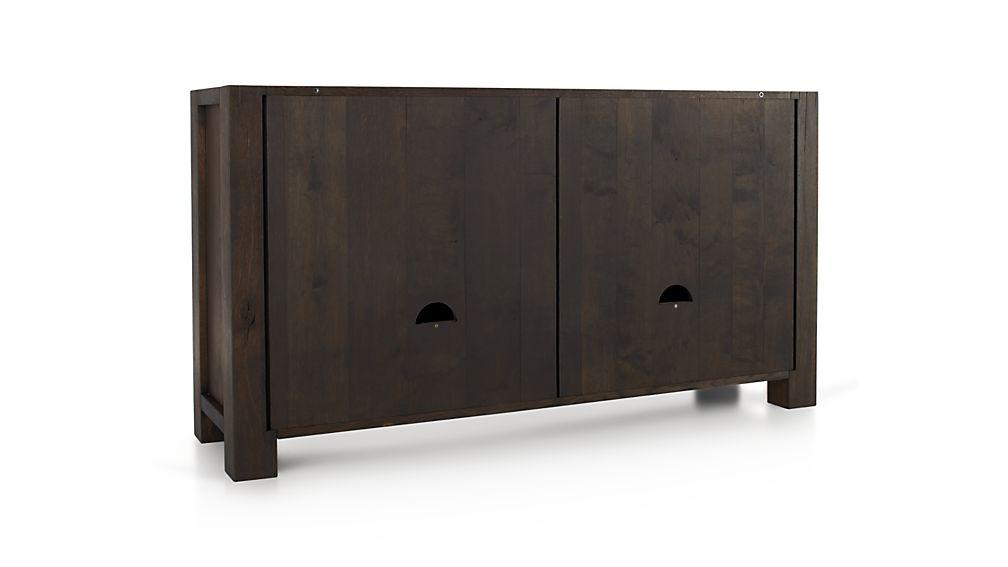 Big Sur Charcoal Sideboard