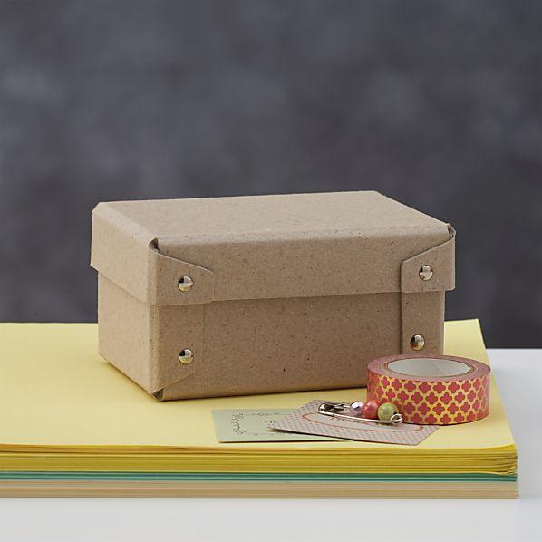 Bigso ® Natural Bits Storage Box