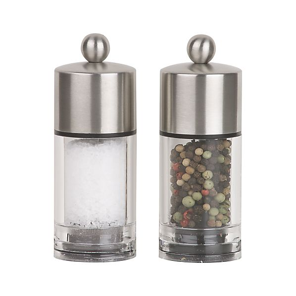 Biscayne Salt and Pepper Mills