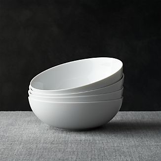 "Set of 4 Bistro 8"" Bowls"