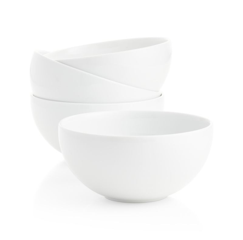 "8.5"" Bistro Bowls Set of Four"