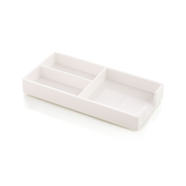 Poppin ® White Bits and Bobs Tray