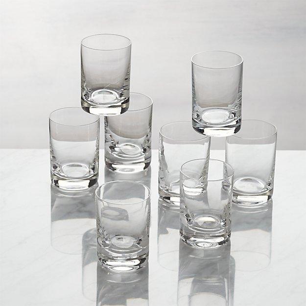 Set of 8 Bitty Bite Tall Glasses