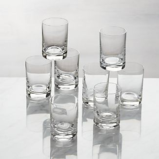 Set of 8 Bitty Bite Tall Glasses