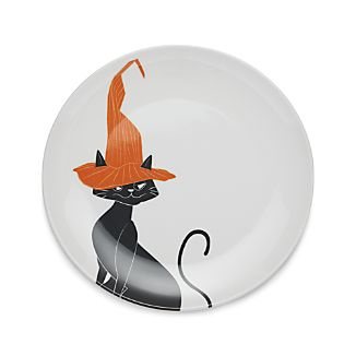 "Black Cat 9"" Melamine Plate"