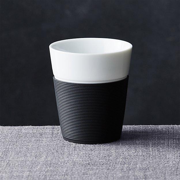 Black Silicone Medium Cup