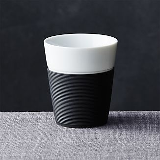 Black Silicone Medium Cup