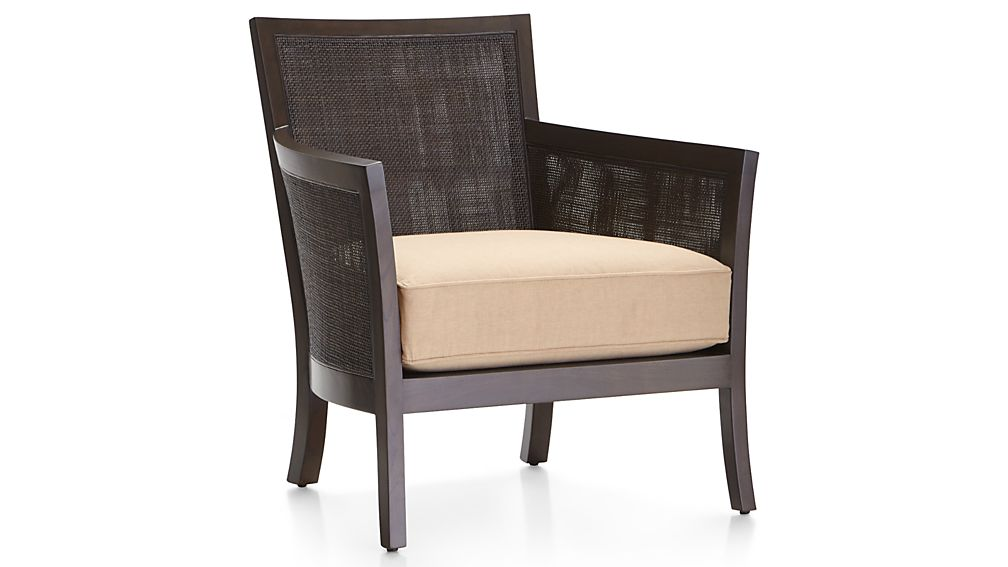 Blake Carbon Grey Chair with Fabric Cushion