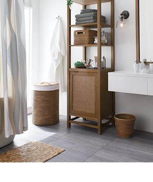 bathroom inspiration gallery crate and barrel