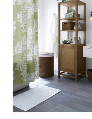 Marimekko Kukkula Green Shower Curtain