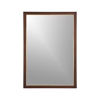 Blake Sumatra Rectangular Wall Mirror
