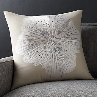 "Bloom Frost 20"" Pillow"