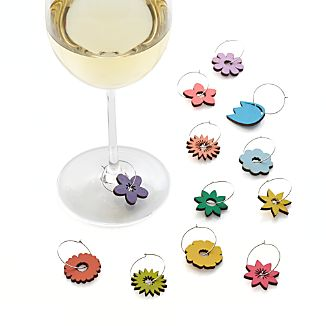 Set of 12 Blossom Wine Charms
