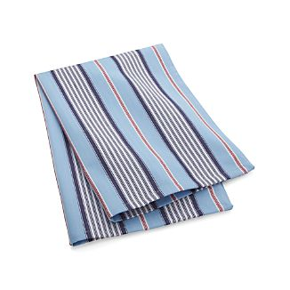Blue Ticking Stripe Dish Towel