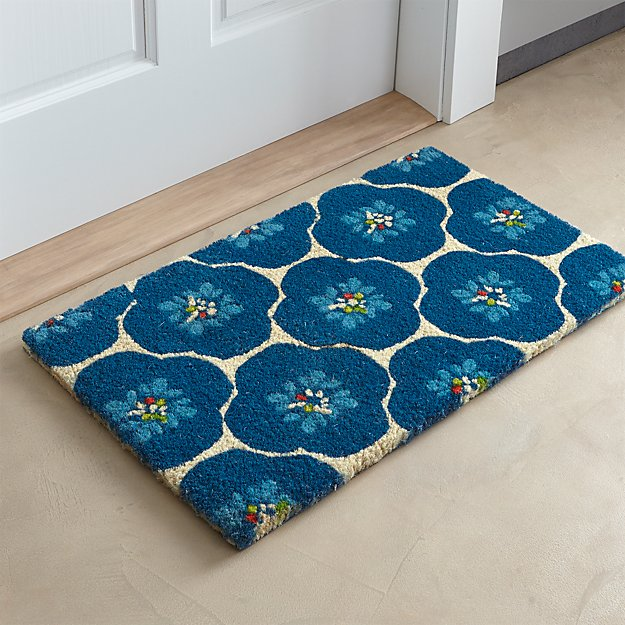 Bluebell Doormat Crate And Barrel