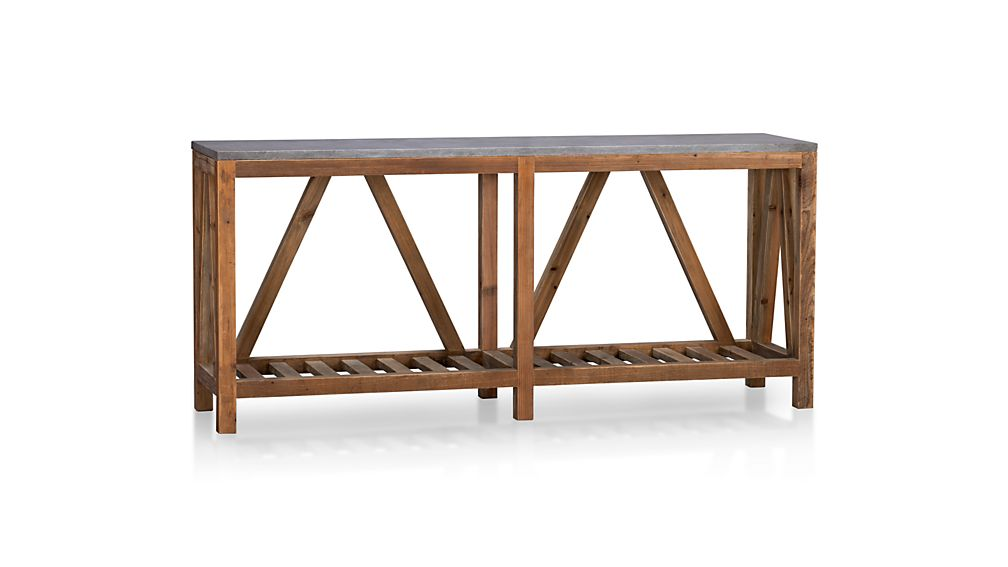 Bluestone Console Table