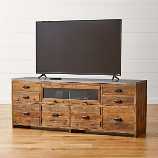 Bluestone Reclaimed Wood Media Console