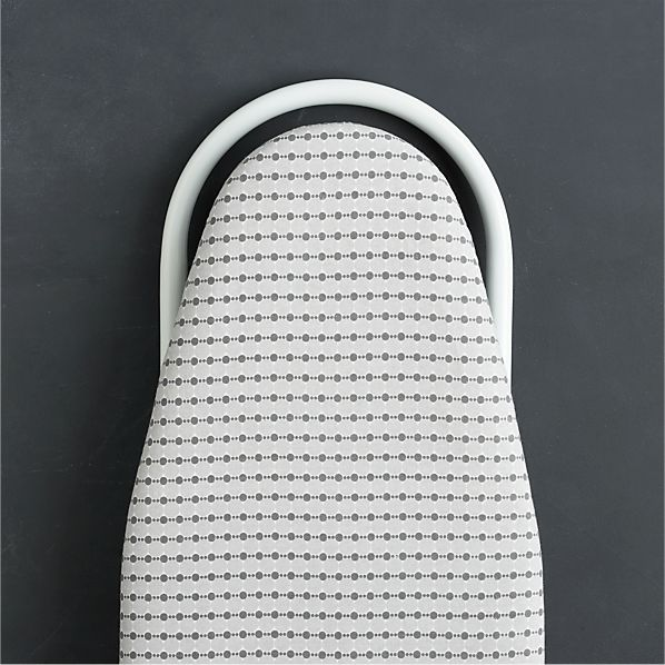 Grey Dot Tabletop Ironing Board Cover with Pad