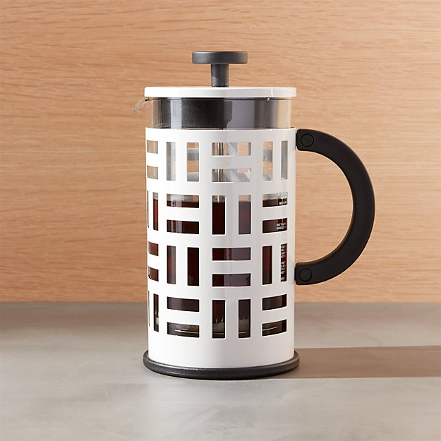 Bodum ® Eileen White French Press Coffeemaker