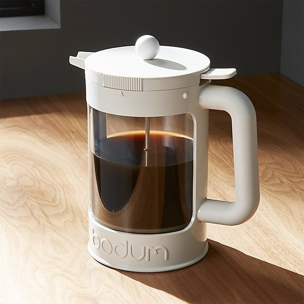 Bodum 12 Cup White Iced Coffee Maker Crate And Barrel