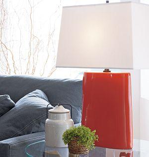 Boka Persimmon Table Lamp